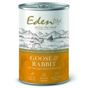 Eden Vådfoder Goose & Rabbit 400g