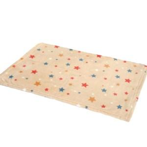 Fleece hundetæppe med Stjerner-L