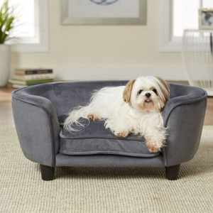 Hundesofa Coco grå