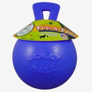 Jolly Tug-n-Toss 10cm Small - Blå