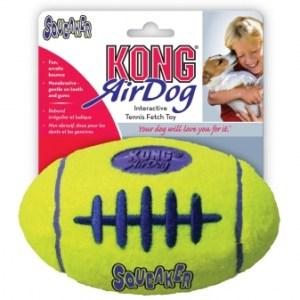 KONG AirDog Squeaker Football tennisbold-Small