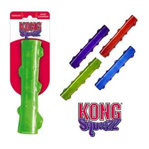 KONG Squeezz Stick-Large-Grøn