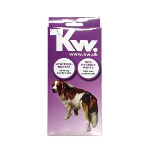 KW Løbetidsbukser med 5 stk. indlæg-Str. 4