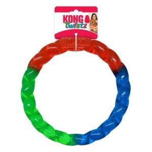 Kong Hundelegetøjs Twistz Ring - 28x3cm - Large