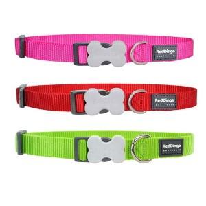 Red Dingo Halsbånd-Pink-20-32 cm