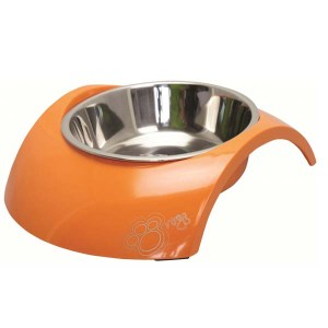 Rogz Bowl Luna, Orange-160 ml