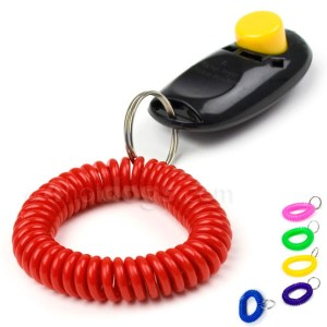 Spiralarmbånd til klikker, nøgle m.m.-Hvid