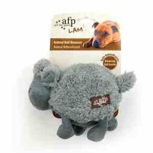 afp Hundelegetøjs Bamse Tøjlam - Med Pivelyd