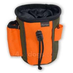 2-farvet Godbidstaske-Khaki/orange