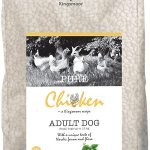 7,5 kg Kingsmoor Pure Dog Chicken small - Pure Kylling fra Kingsmoor til små racer