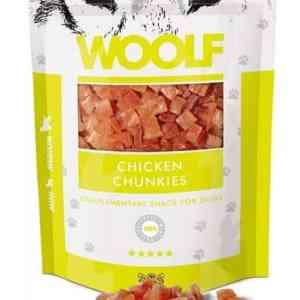 Woolf Hunde Snack Godbidder - Med Lam Chunkies - 100g - 91% Kød