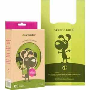 Eco-friendly lavendel høm høm poser med håndtag 120stk