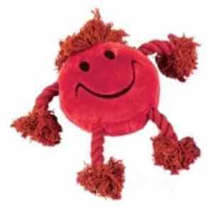 Kw Hundelegetøjs Smiley Reb - 21x30x8cm - Rød