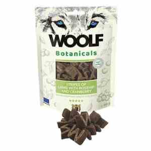 Woolf Botanicals Hunde Snack Godbidder - Med Lamme Stripes & Tranebær - 80g