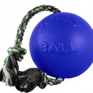 """Romp-n-Roll bold med reb blå Small 4,5"""""""