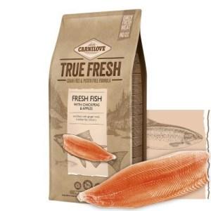 Carnilove True Fresh hundefoder, m/Fisk, 4 kg