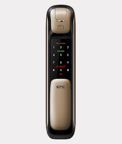 Call 96177025 to buy EPIC 5G Push Pull Digital Lock in Singapore