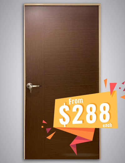 Call 96177025 to buy Germany Tubular HDB Bedroom Door and Fire rated HDB door Singapore sales