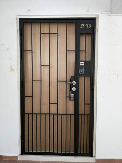 Simple Line HDB Gate (Design 1)