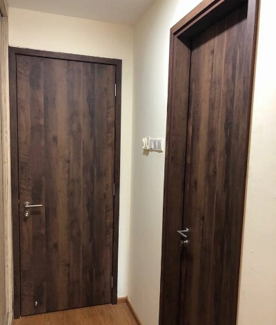 Call 96177025 to buy Door Frame with no Hacking issues and Laminate HDB main door sales in Singapore