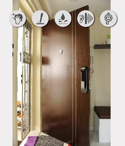 Veneer Solid Main Wooden Door Single Leaf 3×7 Feet