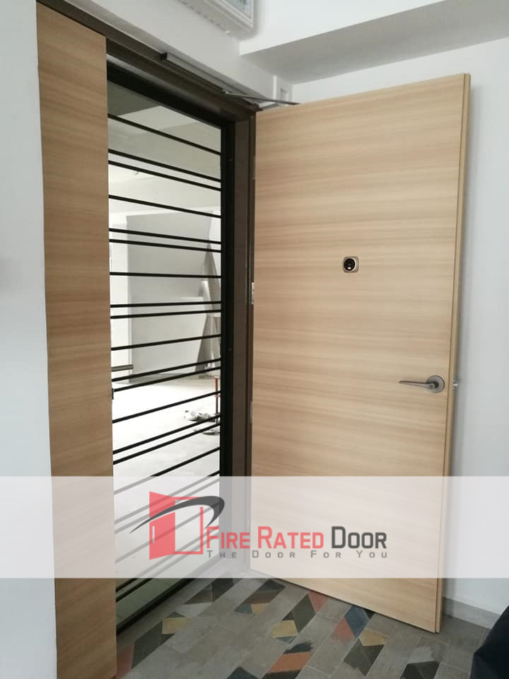 Call 96177025 to buy Top Laminate HDB Solid Main Door and HDB door supplier Singapore sales