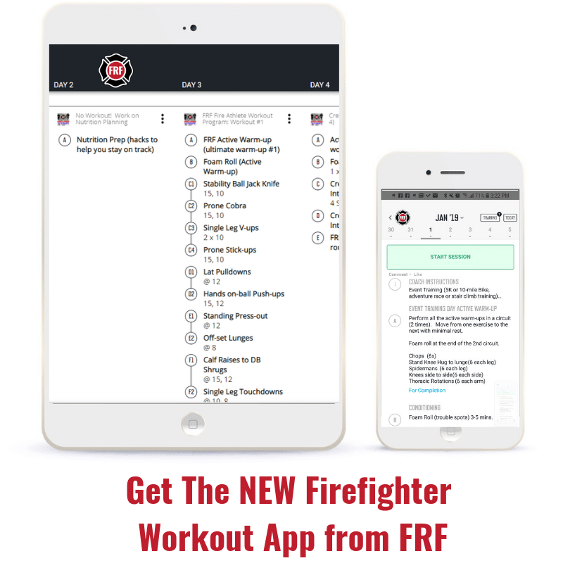 The New Firefighter Workout App