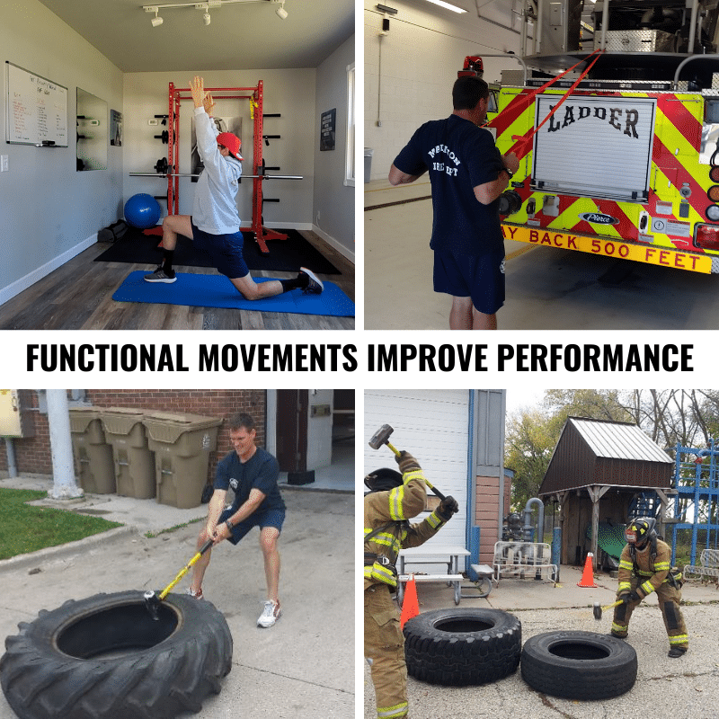 FUNCTIONAL MOVEMENTS IMPROVE PERFORMANCE