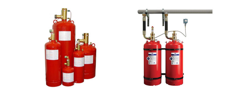 Distribuidor de extintores 1230 contra incendio Novec