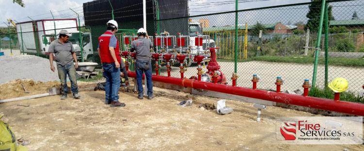 Empresa de suministro de equipos contra incendios