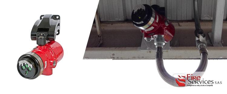 Sistemas de detección de llamas y gases contra incendios
