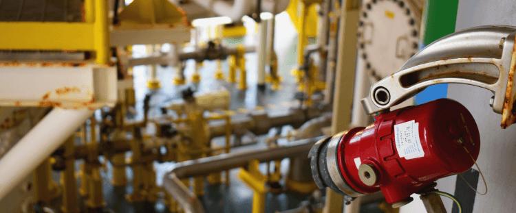 Detectores de llamas y gases contra incendio