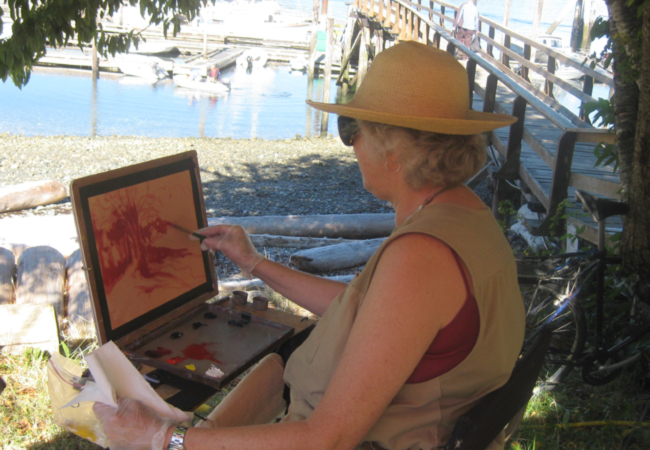 Quadra Island Paint Out September 9, 10, 2017