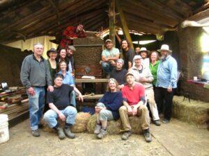 cob masonry heater group