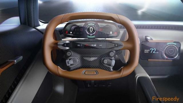 Aston Martin Valhalla Interior