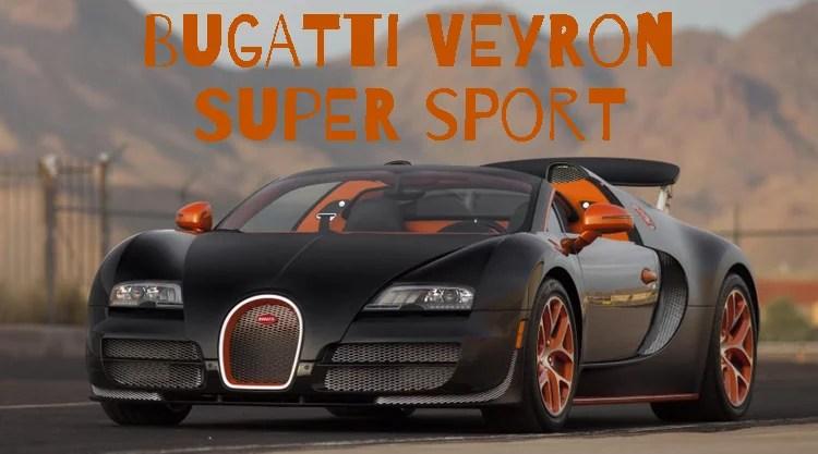bugatti 16.4 super sport