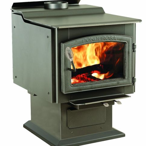 Vogelzang Ponderosa TR007 Wood Burning Stove Reviews with Blower - Best Wood Burning Stove On The Market 2016: Review And Comparison