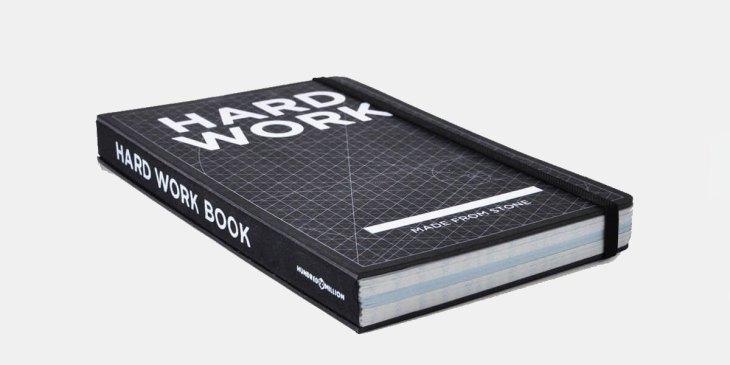 Hardwoork Notebook, Notizbuch, Steinpapier, umweltfreundlich, Notizen, Everyday Carry, Einsteiger, Setup