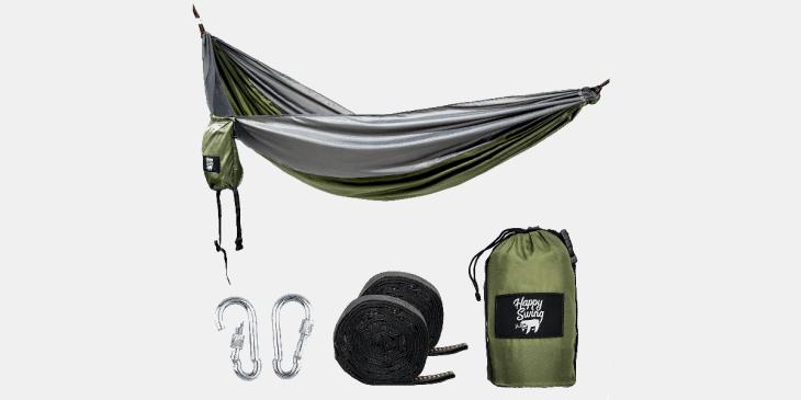 Amazon, Mai 2018, Outdoor, Everyday Carry, EDC, Regenjacke, Lumix, Hängematte, Gürtel, Rucksack, Messer, Flachmann, Uhr