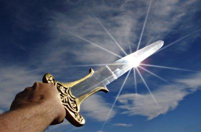SHARPEN YOUR SWORD!