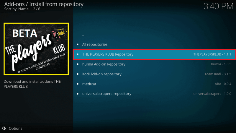 The Players Klub IPTV | Review & Installation for Firestick & Kodi