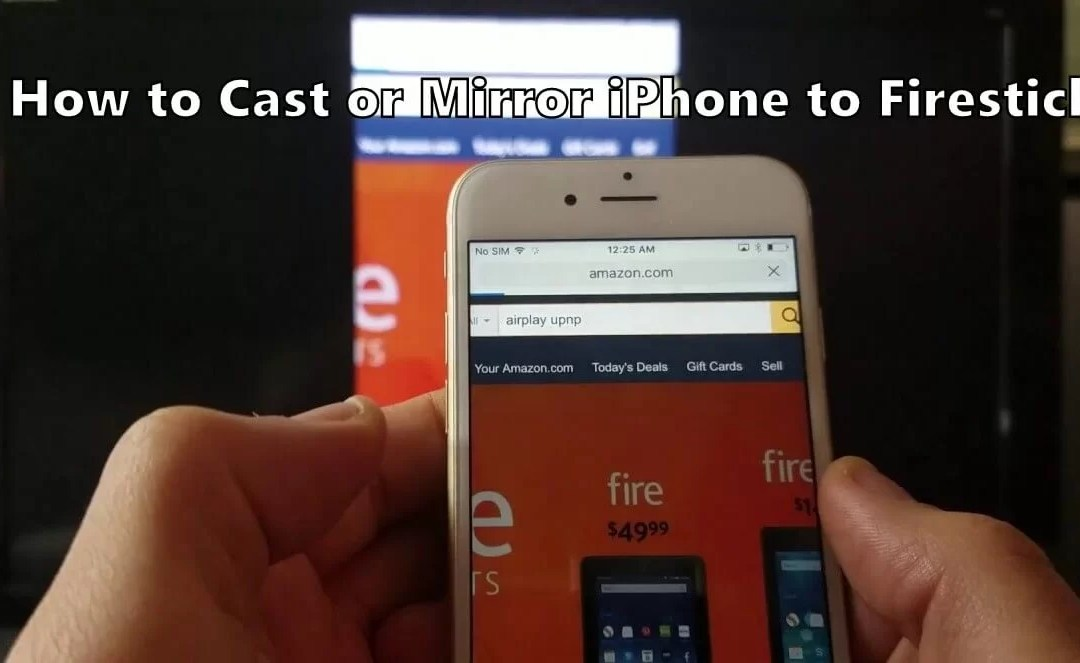 Mirror iPhone to Firestick