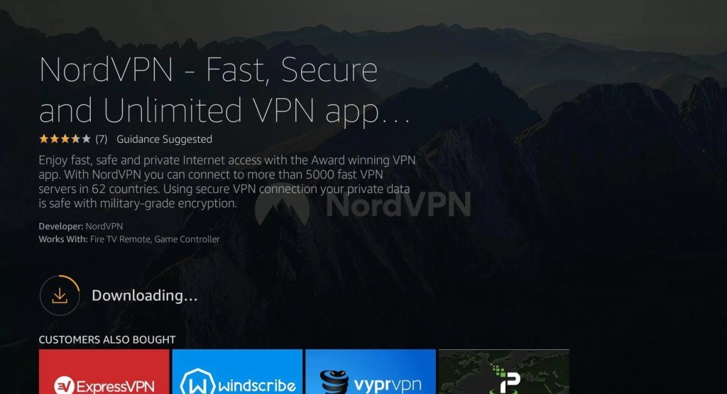 nordvpn on firestick