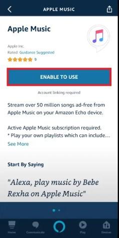 Link Amazon Alexa with Apple