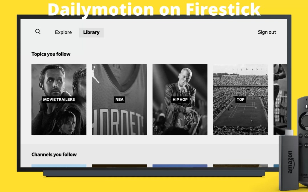 How to Download Dailymotion on Firestick [2021]