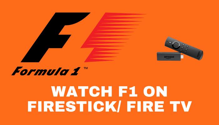 How to Watch (Formula 1) F1 on Firestick / Fire TV   Live 2021