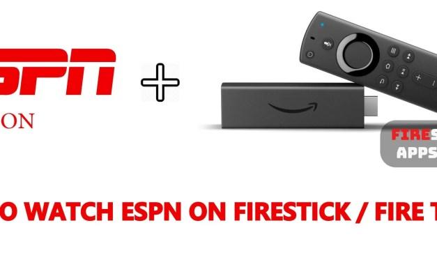 How to Watch ESPN on Firestick / Fire TV [2019]