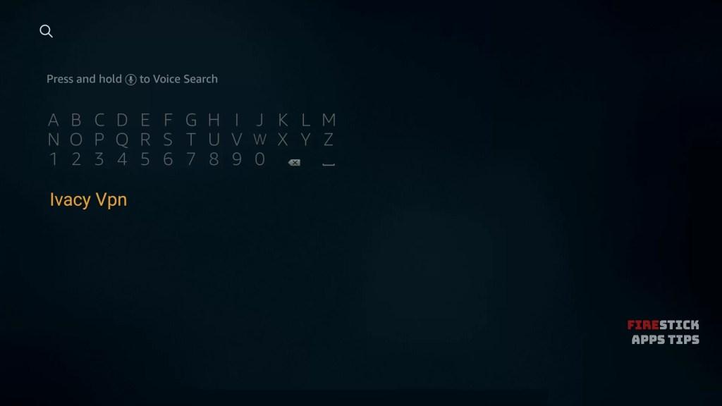 Ivacy VPN Firestick