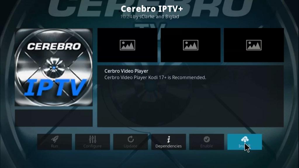 Cerebro IPTV Kodi Addon