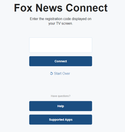 Activate Fox News App